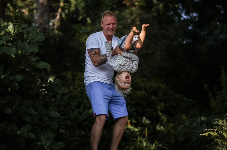 Familieshoot Rosarium Scheveningen
