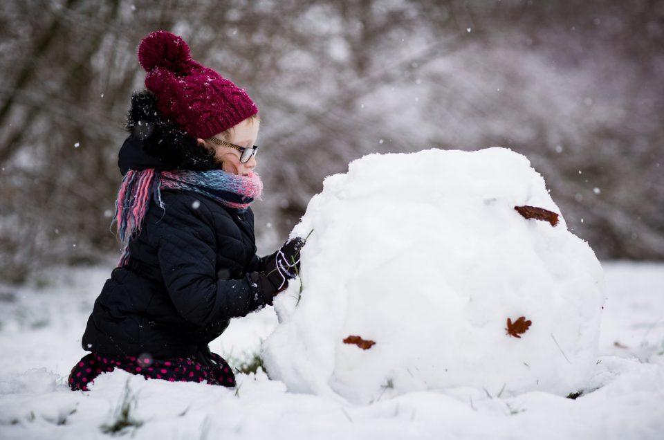 Lifestylefotografie in de sneeuw